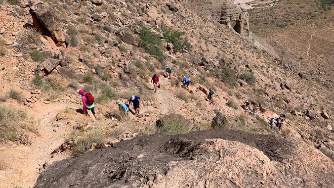 Hiking the Grand Canyon: Adventures On and Below the South Rim