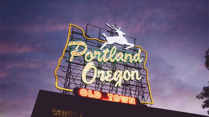 Signature City Portland Oregon