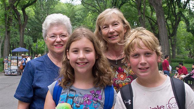 New York City Theater with Grandchildren