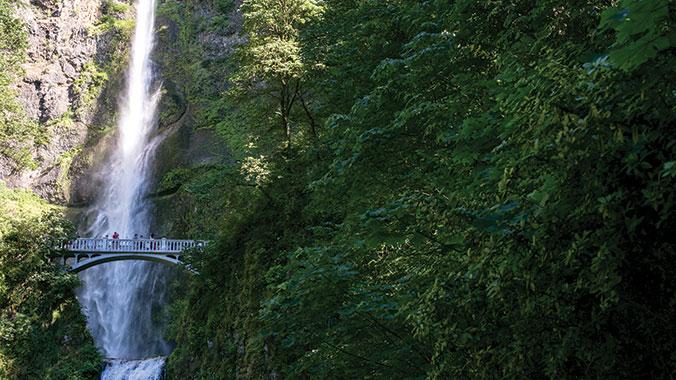 Oregon: Mt. Hood and the Columbia River
